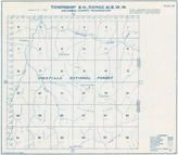 Township 8 N., Range 41 E., Umatilla National Forest,  Panjab Creek, Tucannon River, Columbia County 1933