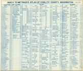 Index 1, Cowlitz County 1956
