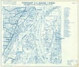 Township 4 N., Range 1 W., Warren, McNulty, Scappoose Bay, Ridgefield, Lewis River, Sauvie Isl, Cowlitz County 1956