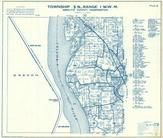Township 5 N., Range 1 W., Columbia River, Woodland, Martin, Cowlitz County 1956