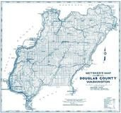 Douglas County Map, Douglas County 1965c