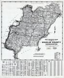 Douglas County 1980 to 1996 Mylar, Douglas County 1980 to 1996
