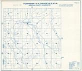 Township 10 N., Range 42 E., Columbia Center, Peola, Garfield County 1933