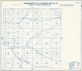 Township 13 N., Range 42 E., Gould City, Mayview, Garfield County 1933