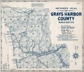 Index Map, Title Page, Grays Harbor County 1962