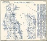 Township 30 N., Range 2 E., Whidbe Island, Holmes Harbor, Saratoga Passage, Beverly Beach, Island County 1960