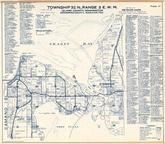 Township 32 N., Range 3 E., Skagit Bay, Stanwood, Port Susan, Camano Island, Livingston Bay, Island County 1960
