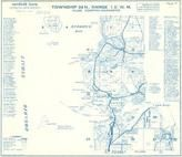 Township 34 N., Range 1 E., Burrows Bay, Rosario Strait, Whidbey, Decept, Island County 1971