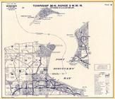 Township 30 N., Range 1 W., Port Discovery Bay, Miller Peninsula, Protection Island, Cape George, Jefferson County 1997