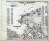 Township 21 N., Range 3 E., Tacoma, Commencement Bay, Lakota, Adelaide, King County 1936