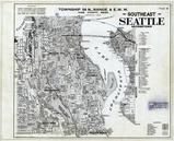 Township 24 N., Range 4 E., Seatle - Southeast, Geogetown, Elliott Bay, King County 1936