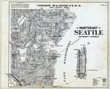 Township 25 N., Range 4 E., Seattle - Northeast, University District, Queen, King County 1936