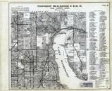 Township 26 N., Range 4 E., Lake Washington, Kenmore, LK Forrest Park, King County 1936