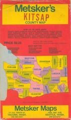 Envelope Front - Title, Kitsap County 1970c Wall Map