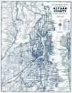 Kitsap County 1970c Wall Map, Kitsap County 1970c Wall Map
