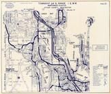 Township 24 N., Range 1 E., Beaver Dam Lake, Oyster Bay, Kitsap Lake, Chick Bay, Kitsap County 1970c
