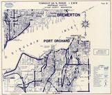 Township 24 N., Range 1 E., Port Orchard, Annapolis, Bremerton, Sinclair Inlet, Kitsap County 1970c