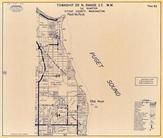 Township 28 N., Range 2 E., Puget Sound, Pilot Point, Eglon Ten, Kitsap County 1970c