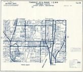 Township 22 N., Range 1 E., Burley, Evergreen Terrace, Horseshoe Lake, Kitsap County 1973