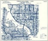 Township 24 N., Range 1 E., Phinney Bay, Port Washington Narrows, Sheridan Park, Mud Bay, Point Turner, Herron, Kitsap County 1973
