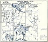 Township 24 N., Range 1 W., Mission Lake, Gaging Station, Panther Lake, Bremerton, Lake Tahuyen, Kitsap County 1973