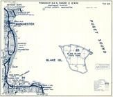 Township 24 N., Range 2 E., Blake Island, Puget Sound, Manchester, Colchester, Yukon Harbor, Colby, Kitsap County 1973