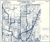Township 25 N., Range 1 E., Apex Airport, Bangor Naval Station, Clear Creek Valley, Kitsap County 1973