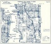Township 25 N., Range 2 E., Island Center, Port Orchard, Westwood, Crystal Springs, Bremerton, Ilahee, Gilberton, Kitsap County 1973
