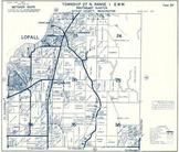 Township 27 N., Range 1 E., Lofall, Four Corners, Breidablick, Big Valley, Kitsap County 1973