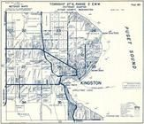 Township 27 N., Range 2 E., Kingston, Apple Cove Point, Puget Sound, Saltair Beach, Carpenter Lake, Kitsap County 1973