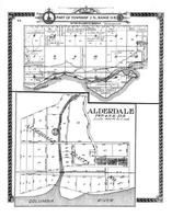 Township 2 N., Range 15 E., Alderdale, Columbia River, Fallbridge P.O., Mary Hill, Klickitat County 1913 Version 2