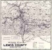 Index Map, Title Page 1, Lewis County 1960c