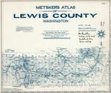 Index Map, Title Page, Lewis County 1962