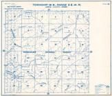 Township 14 N., Range 3 E., Snoqualmie National Forest, Newaukum River, Bald Mtn., Lewis County 1962