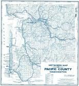 Pacific County Map, Pacific County 1975c Map