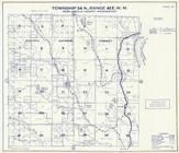 Township 34 N., Range 43 E., Kaniksu National Forest, Parker Lake, Pend Oreille County 1957
