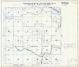 Township 37 N., Range 42 E., Colville National Forest, Muddy Creek, Pend Oreille County 1957