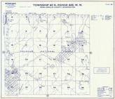 Township 40 N., Range 44 E., Colville National Forest, Boundary Lake, Pend Oreille County 1957