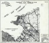 Page 126 - Township 21 N., Range 3 E., Tocoma City, Commencement Bay, Dash Point, Woodstock, Pierce County 1965 Version 2 - 4 inches to a mile