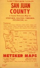 Front Cover - Title, San Juan County 1949 Wall Map
