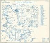 Township 36 N., Range 2 W., Deer Harbor, Griswold, Shaw Island, Orcas Island, Dolphin, Crane, San Juan County 1961