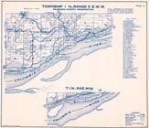 Township 1 N., Range 5 E., Cape Horn, Columbia River, Mt. Pleasant, Cruzat, Prindle, Skamania County 1956