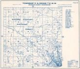 Township 3 N., Range 7 E., Gifford Pinchot National Forest, Stevenson, Skamania County 1956