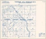 Township 8 N., Range 6 E., Gifford Pinchot National Forest, Muddy River, Skamania County 1956