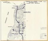 Township 28 N., Range 4 E., Naketa Beach, Sea View, Mukilteo, Elliot Point, Snohomish County 1960c