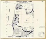 Township 28 N., Range 4 E., Picnic Point, Possession Sound, Norma Beach, Snohomish County 1960c