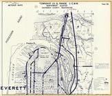 Township 29 N., Range 5 E., Everett, Smith Island, Delta Jct., Preston Point, Snohomish County 1960c