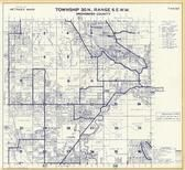 Township 30 N., Range 6 E., Granite Falls, Riverside Fruit Farms, Lake Cassidy, Snohomish County 1960c