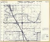Township 31 N., Range 5 E., Stillaguamish River, Island School Crossing, Snohomish County 1960c