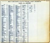 Index 2, Spokane County 1950